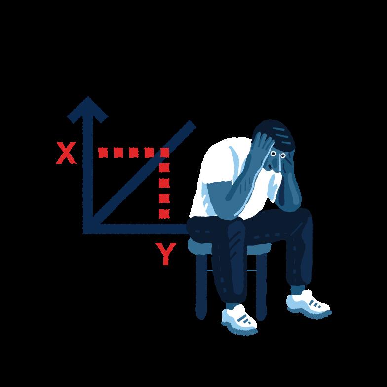 Business problem Clipart illustration in PNG, SVG