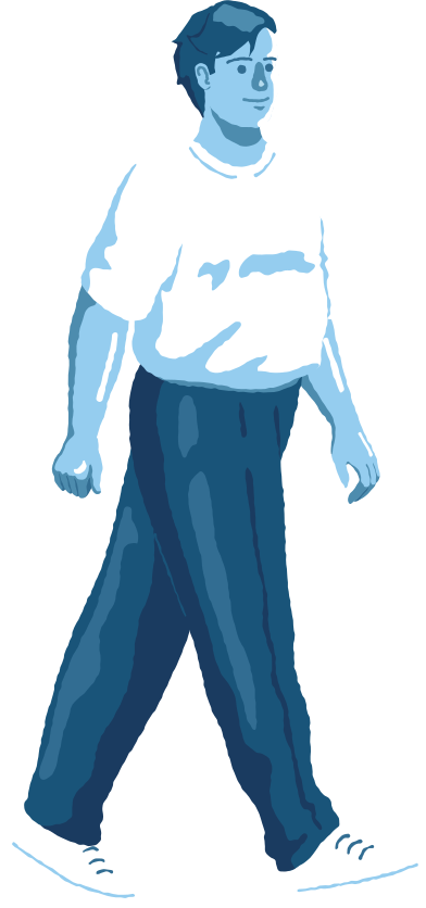 style chubby man walking images in PNG and SVG | Icons8 Illustrations