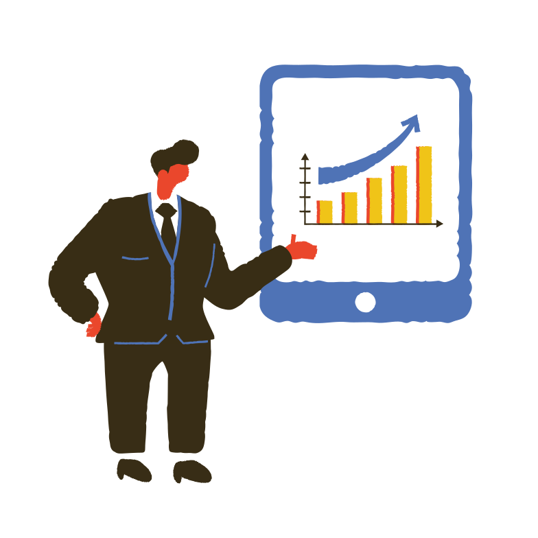 Business overview  Clipart illustration in PNG, SVG