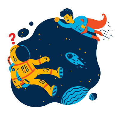 style Meeting in space images in PNG and SVG | Icons8 Illustrations