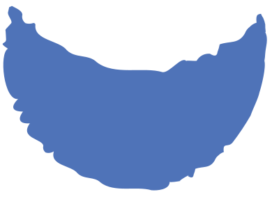 style crescent blue images in PNG and SVG | Icons8 Illustrations