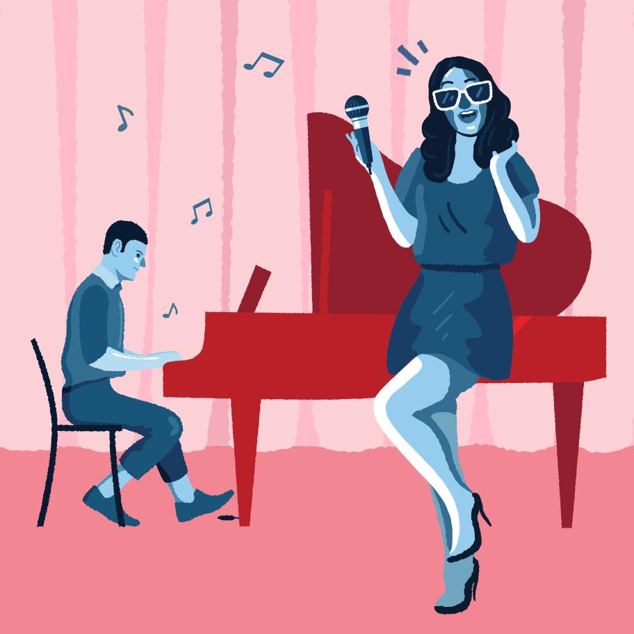 Concert  Clipart illustration in PNG, SVG