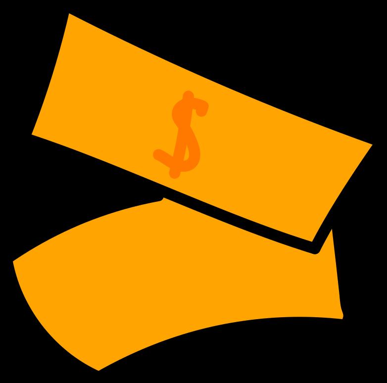 Geldscheine Clipart-Grafik als PNG, SVG