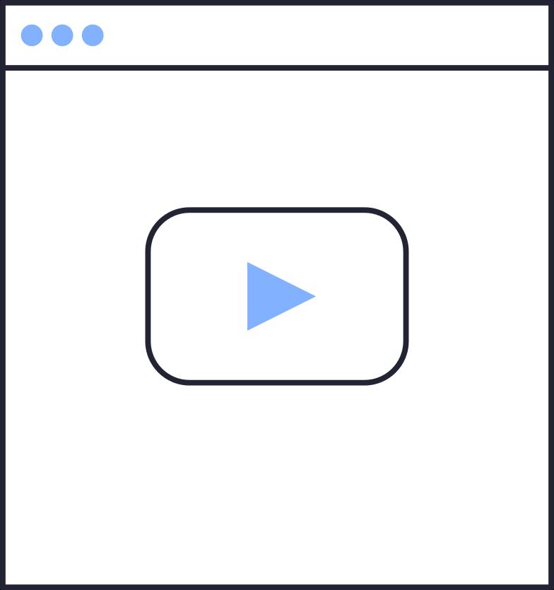 video full Clipart illustration in PNG, SVG