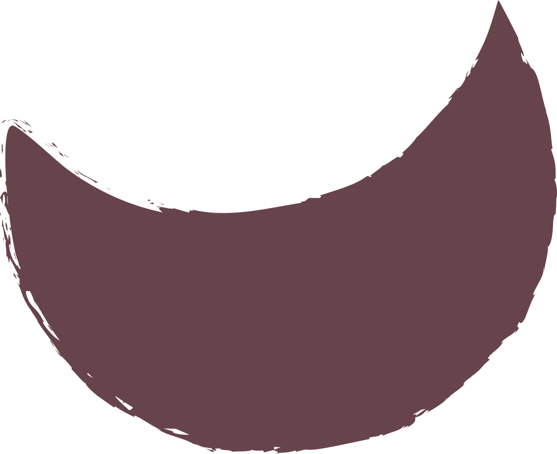 crescent-brown Clipart illustration in PNG, SVG