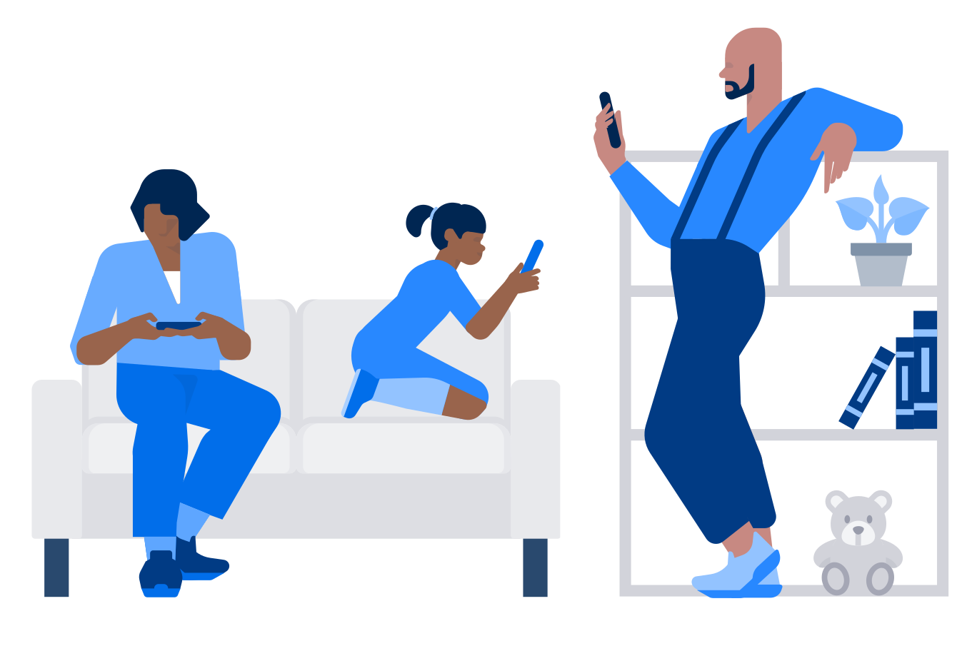 style Smartphone addiction images in PNG and SVG   Icons8 Illustrations