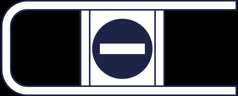 supermarket barrier Clipart illustration in PNG, SVG