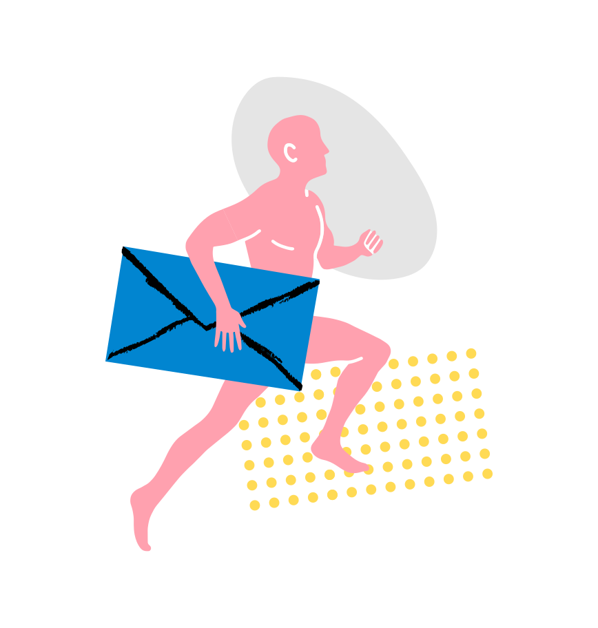 메시지가 보내졌습니다 Clipart illustration in PNG, SVG