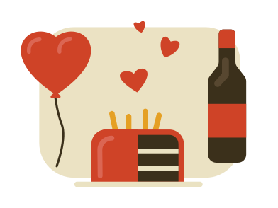 style Celebration valentine's day images in PNG and SVG | Icons8 Illustrations