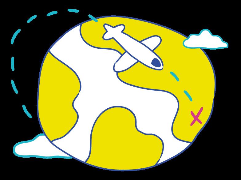 PNGとSVGの  スタイルの 旅行 ベクターイメージ | Icons8 イラスト