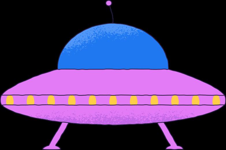 ufo Clipart illustration in PNG, SVG