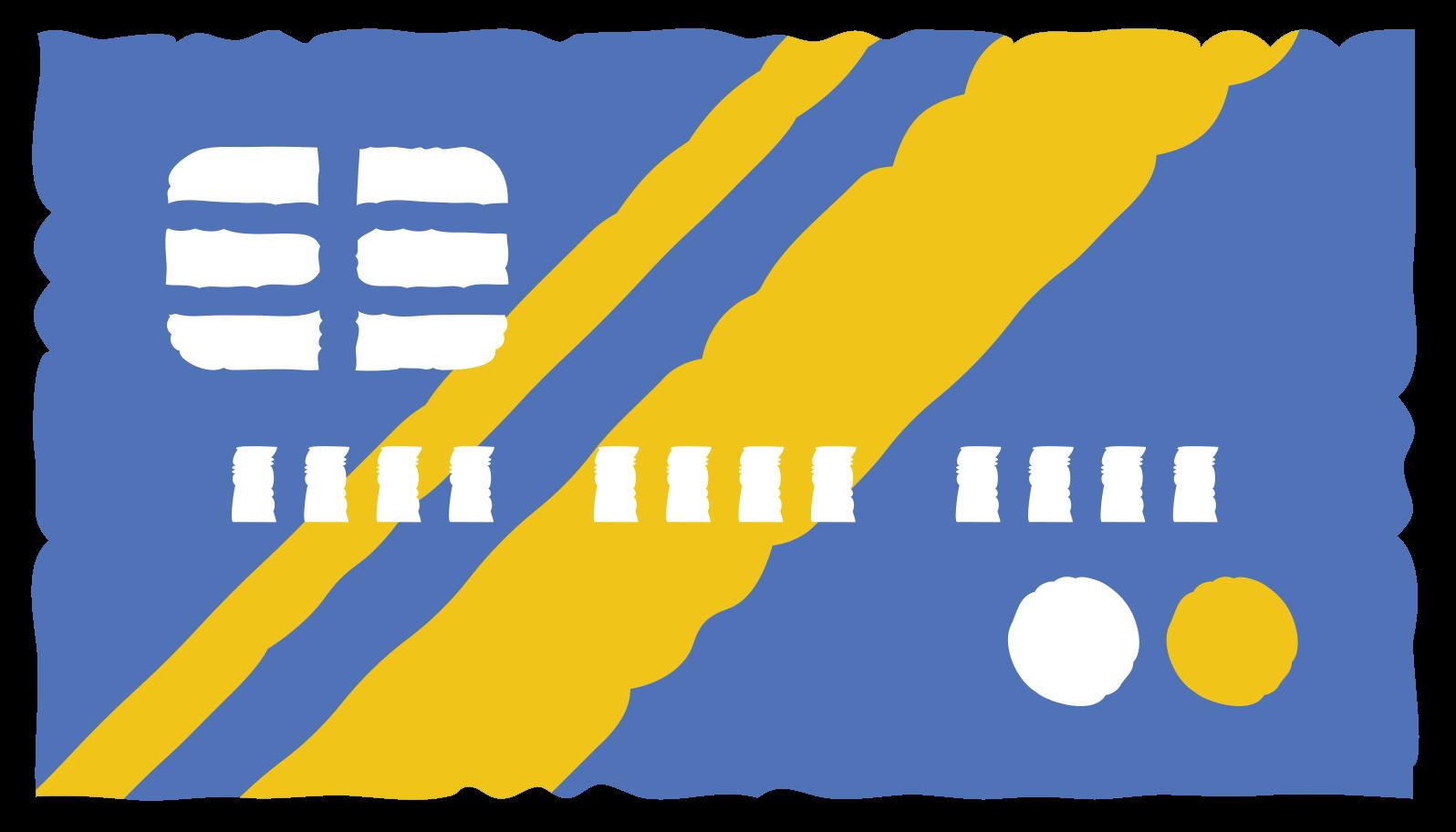 credit card front Clipart illustration in PNG, SVG