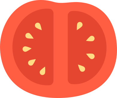 style half a tomato images in PNG and SVG | Icons8 Illustrations