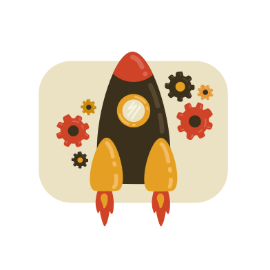 style Rocket service images in PNG and SVG | Icons8 Illustrations