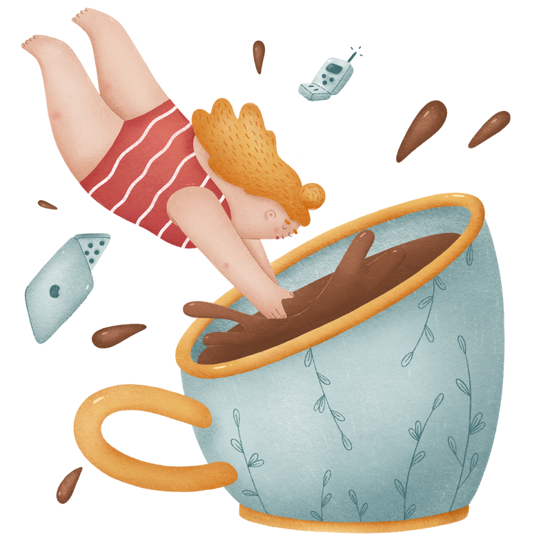 style Coffee break Vector images in PNG and SVG | Icons8 Illustrations