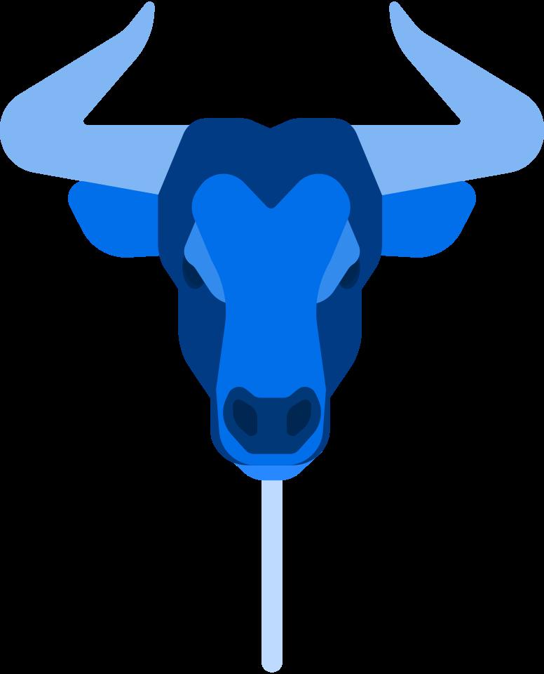 bull mask Clipart illustration in PNG, SVG