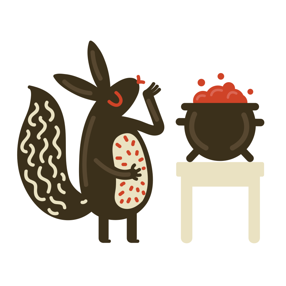 Tasty porridge Clipart illustration in PNG, SVG