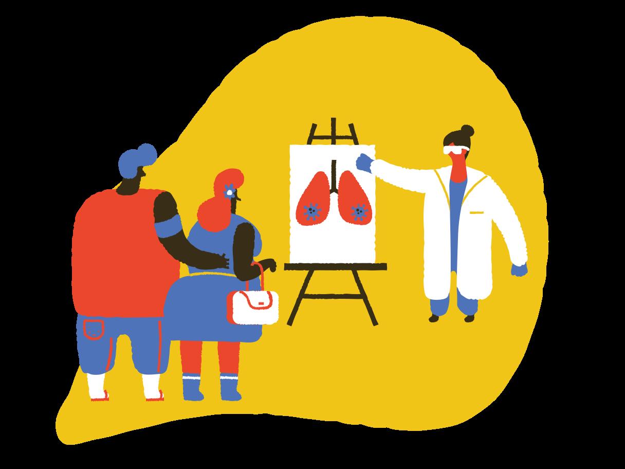 lungenschaden Clipart-Grafik als PNG, SVG