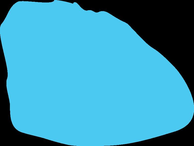 sky blue shape Clipart illustration in PNG, SVG