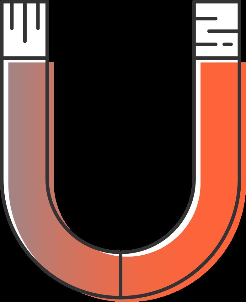 magnet Clipart illustration in PNG, SVG