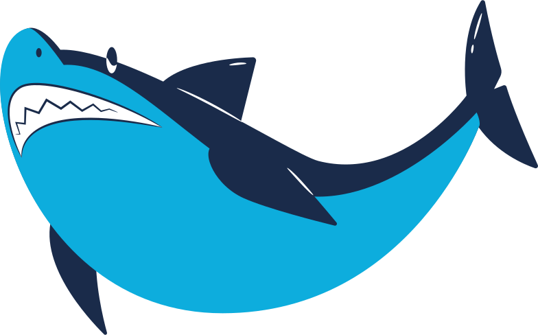 style shark smirking Vector images in PNG and SVG | Icons8 Illustrations