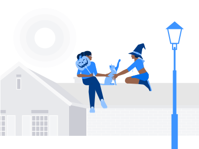 style Witches On The Roof images in PNG and SVG | Icons8 Illustrations