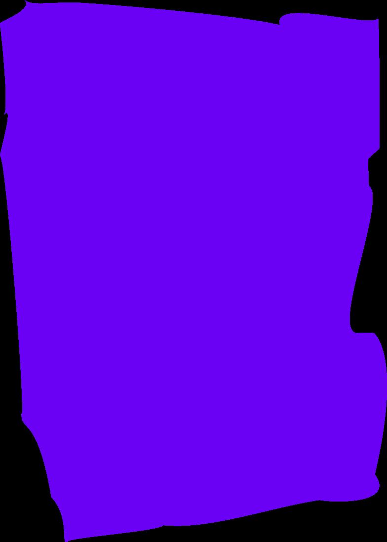 Клипарт Фиолетовый прямоугольник в PNG и SVG