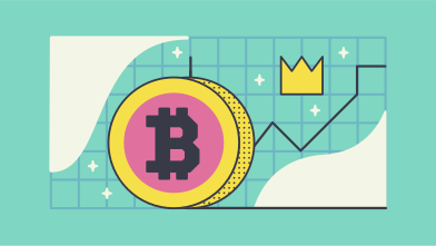 style Cryptocurrency rising images in PNG and SVG | Icons8 Illustrations