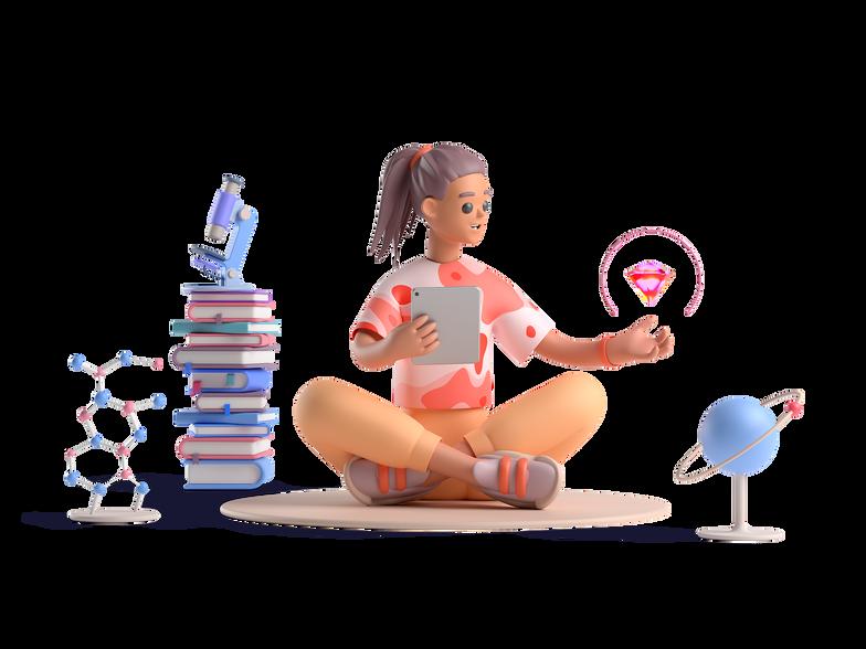 meditation crystal Clipart illustration in PNG, SVG