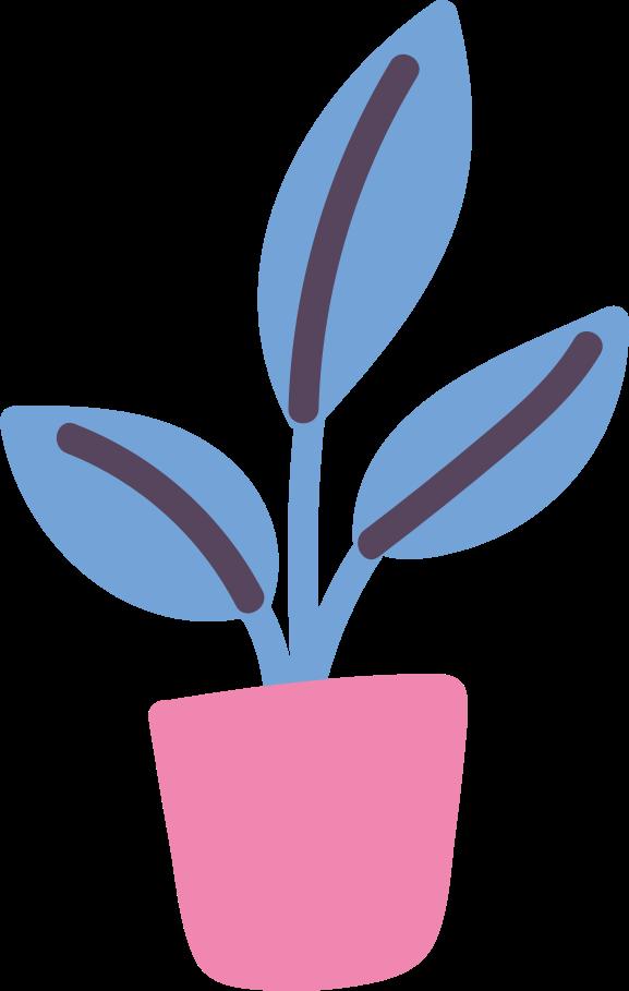home flower Clipart illustration in PNG, SVG