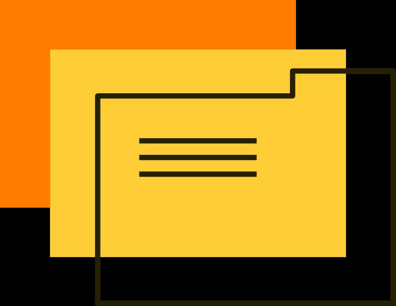 folders Clipart illustration in PNG, SVG