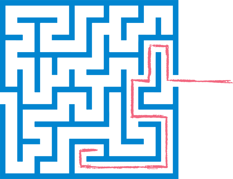 style red path maze Vector images in PNG and SVG | Icons8 Illustrations