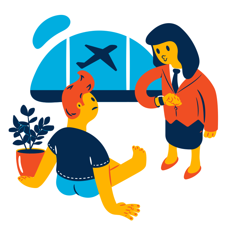 style Flight is awaiting  Vector images in PNG and SVG | Icons8 Illustrations