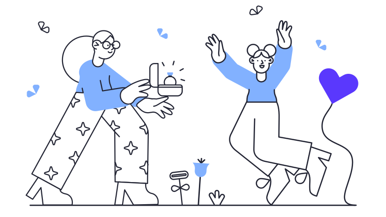 Proposal Clipart illustration in PNG, SVG