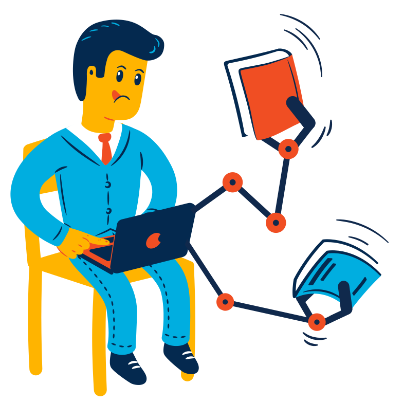 E-books Clipart illustration in PNG, SVG