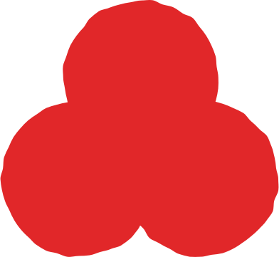 style trefoil red images in PNG and SVG | Icons8 Illustrations