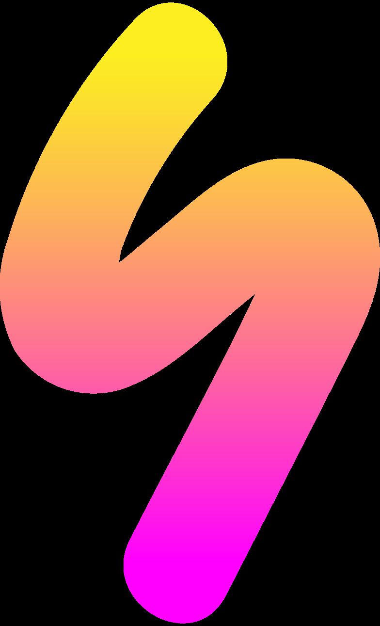 Immagine Vettoriale rg fulmine giallo rosa in PNG e SVG in stile  | Illustrazioni Icons8