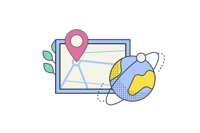 style Delivery map  images in PNG and SVG | Icons8 Illustrations