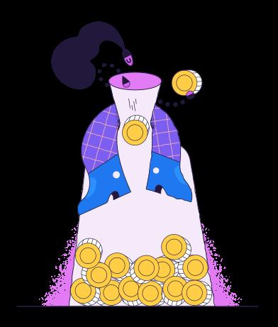 style Économiser de l'argent images in PNG and SVG | Icons8 Illustrations
