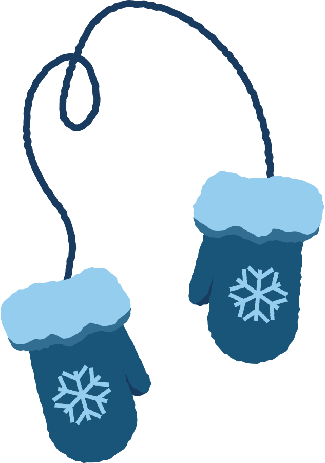 mittens Clipart illustration in PNG, SVG