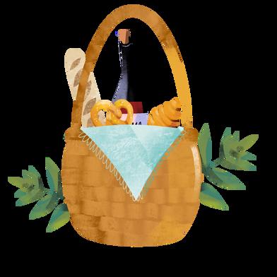 Иллюстрация пикник в стиле  в PNG и SVG | Icons8 Иллюстрации