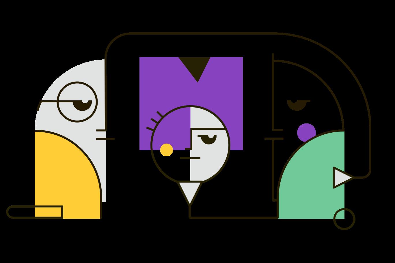 Familie Clipart-Grafik als PNG, SVG