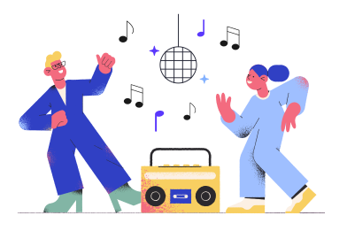 style Disco images in PNG and SVG | Icons8 Illustrations