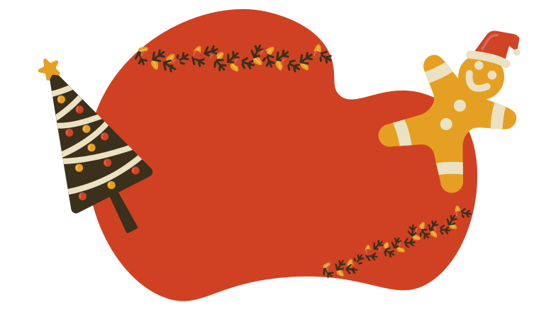 Christmas background Clipart illustration in PNG, SVG