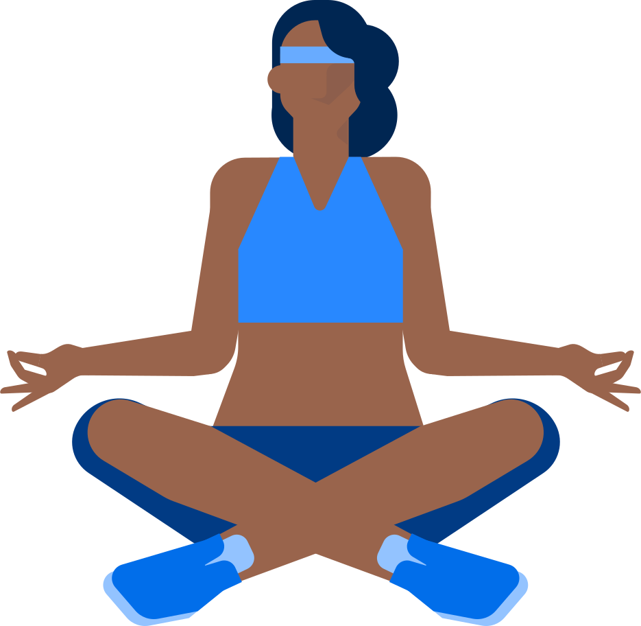 yoga woman Clipart illustration in PNG, SVG