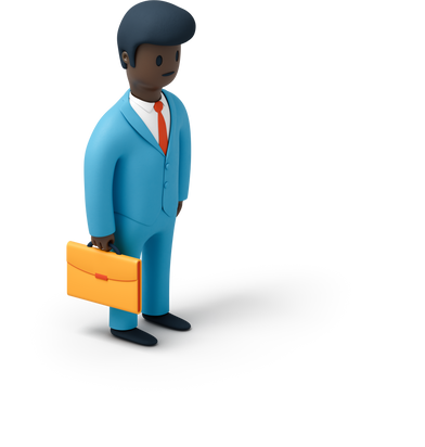 style Man with briefcase images in PNG and SVG | Icons8 Illustrations