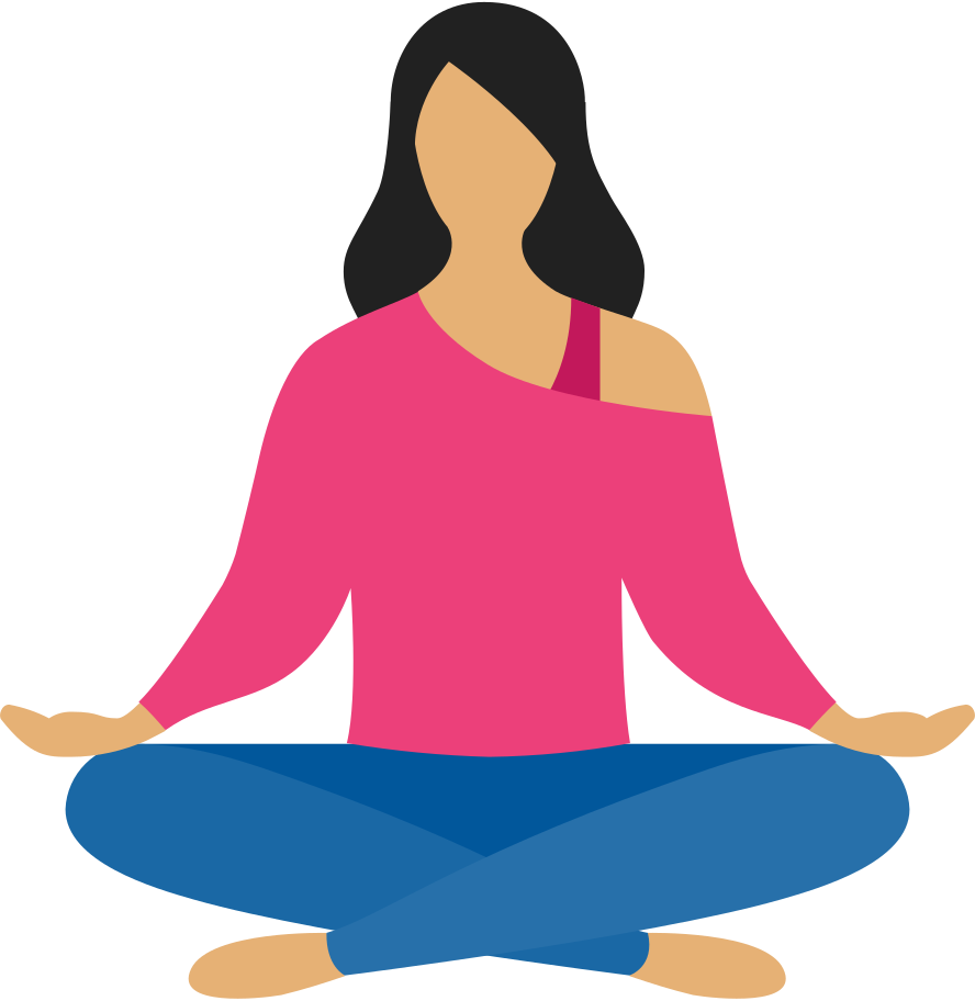 style woman meditation Vector images in PNG and SVG | Icons8 Illustrations