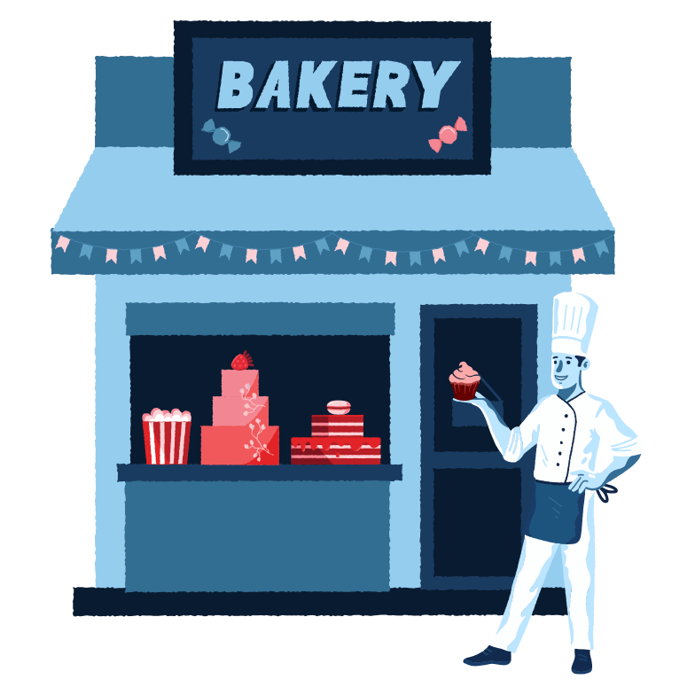 style Bakery shop Vector images in PNG and SVG | Icons8 Illustrations