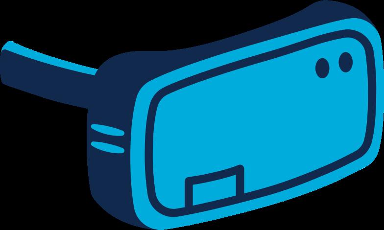 vr headset Clipart illustration in PNG, SVG