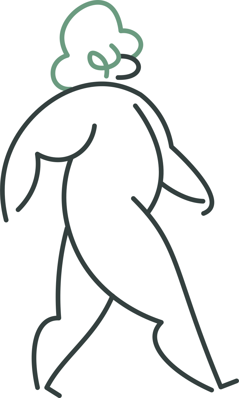 man going Clipart illustration in PNG, SVG